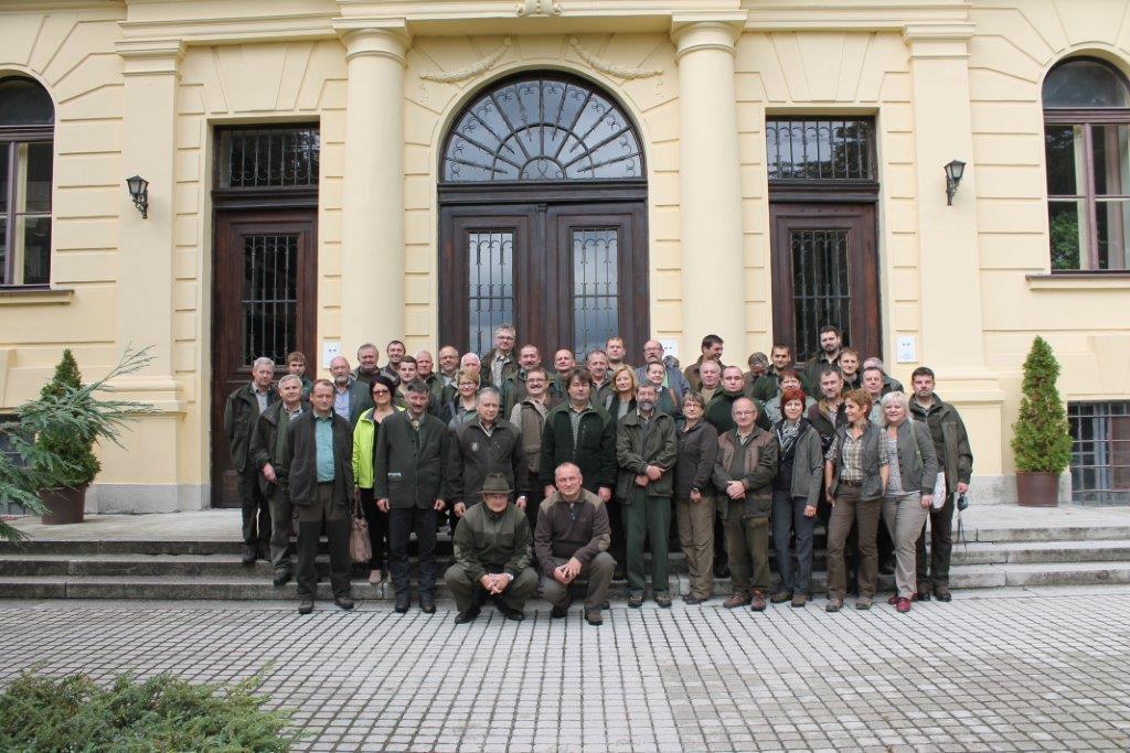 Szlovák erdészek tanulmányútja