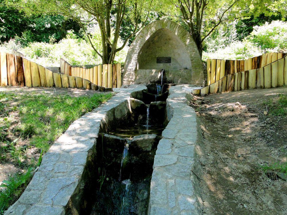 A felújított Szalamandra-tavi pihenő átadása