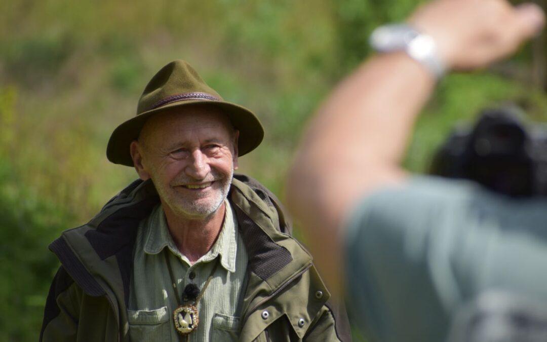 Reviczky Gáborral töltöttünk egy napot az erdőn