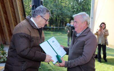 OMVK kitüntetések a megyei vadásznapon